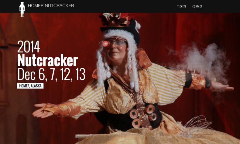 Homer Nutcracker Website